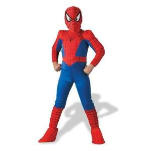 Spider Man Deluxe Costume Boys Size 4 6 Toys & Games