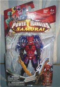 Power Rangers Samurai Master Xandred 4.5 inch Figure NEW