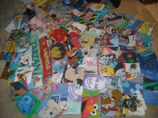 30 Different Boy/Girl Cartoon Character Pillow Cases (Vintage)Each