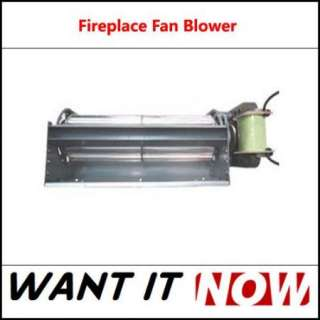Fan Fireplace Gas Wood Coal Stove for Heat Surge and Real Flame |