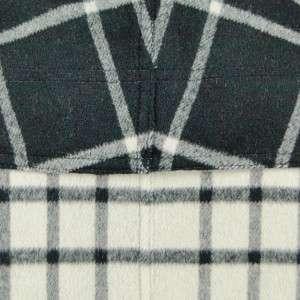 Sutton Studio Womens Plaid Wool Blend Reversible Cape Jacket  Assorted