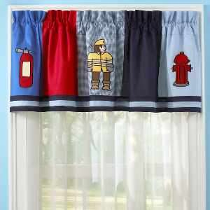 RED FIRE FIGHTER RED FIRE TRUCK Boy TWIN Bed in a Bag