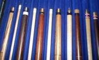 Sample 12 Stylecraft Pool Cues in Case Minnesota Fats and More