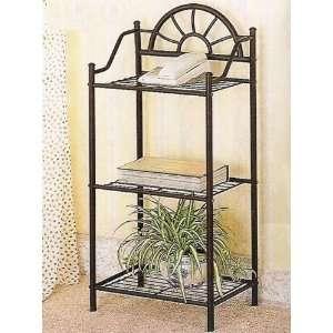 Sunburst Three Shelf Telephone Stand