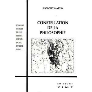 de la philosophie (9782841744336): Jean Clet Martin: Books