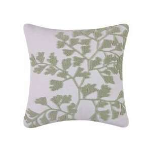 Kimiko Leaf Decorative Hooked Throw Pillow: Home & Kitchen