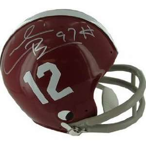 Cornelius Bennett Signed Alabama Crimson Tide Mini Helmet