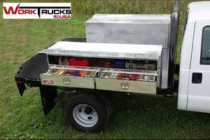 Truck Tool Box Flat Bed with Drawers NEW 96 long