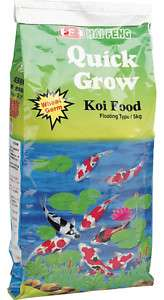 HAI FENG QUICK GROW KOI FOOD 5KG (11LB) LARGE PELLETS