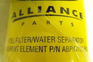 Alliance Fuel Filter Assembly Part# ABP/N122 R50418
