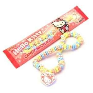 Hello Kitty Candy Necklace (6 Count) Grocery & Gourmet Food