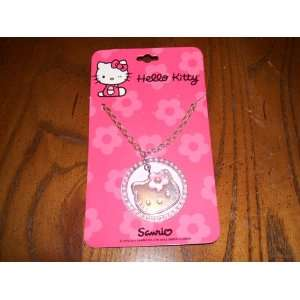 Sanrio Hello Kitty Pink Medallion Necklace Sports