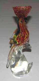 Murano Art Glass Rooster Figurine