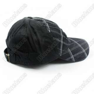 Golf Ball Classic Sport Casual Embroidery Hat Cap wi Eagle Black