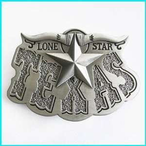 New Lone Star State Texas Longhorn Belt Buckle WT 026AS