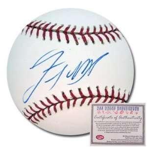 Lastings Milledge Washington Nationals Hand Signed Rawlings MLB