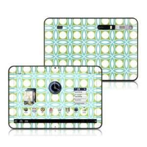 Blue Geo Design Protective Skin Decal Sticker for Motorola