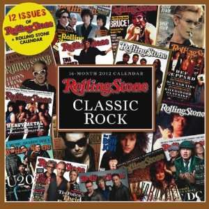 Rolling Stone Classic Rock 2012 Mini Calendar Office Products