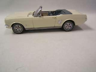 Danbury Mint 1966 Ford Mustang Convertible