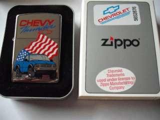 CHEVY THUNDER ZIPPO LIGHTER VINTAGE XIV 1998 CHEVROLET PICKUP TRUCK