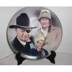 JOHN WAYNE COLLECTOR PLATE #2999 OUT OF 10,000 WORLD WIDE