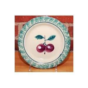 FRUIT SALAD PLUM DESSERT PLATE / SALAD PLATE  Kitchen