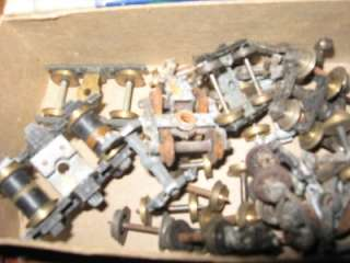 HO SCALE Model Train Parts, Steel wheels & Assemblies HO SCALE PARTS