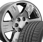 Yukon Wheels Goodyear 275 55 Tires Rims Fit GMC Cadillac Chevy