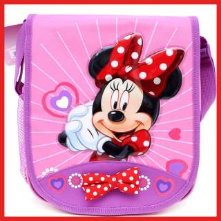 Disney Minnie Mouse School Bag Lunch Snack  w/Big Bow