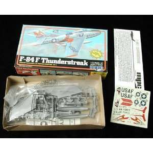 F 84F Thunderstreak Korean War Era U.S. Air Force Airplane