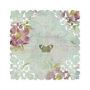 K & Company Flora & Fauna Die Cut Paper 12X12 Peonies; 12