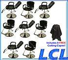 ALL PURPOSE BARBER CHAIR RECLINE SHAMPOO HAIR BEAUTY SALON EQUIPMENT