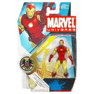 Marvel Universe 3 3/4 Series 1 Action Figure Iron Man  Toys & Games