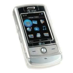 LG SHINE CU720 Crystal CLEAR Hard Plastic Snap On Protective Faceplate