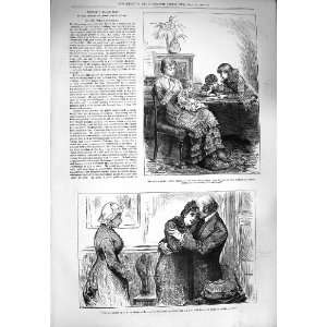 1880 GOVERNESS CHILDREN MAN LADY ROMANCE PEOPLE I MET