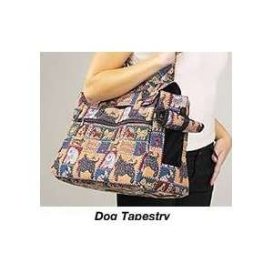 Casual Canine Dog Tapestry Pet Carrier