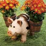 Barnyard Animal Planter ~ Choice of Cow, Horse or Pig