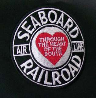 Seaboard Air Line Embroidered Railroad Cap Hat #40 SAL
