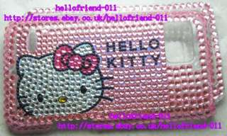 kitty Bling Full Case Cover For Motorola Droid Bionic XT875 #1