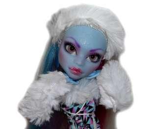 OOAK GLASS EYES custom Monster High doll repaint Abbey Bominable