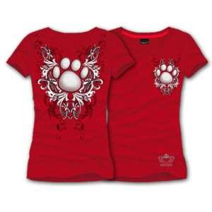 KATYDID Paw Print Mascot Shirt w/CRYSTALS, Super Cute