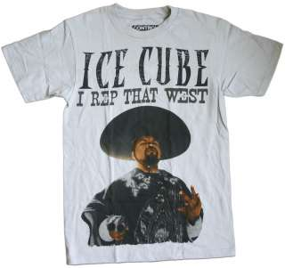 Ice Cube   I Rep That West T Shirt