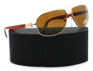 NEW Prada Sunglasses SPR 57N BROWN ZVN 8C1 SPR57N AUTH
