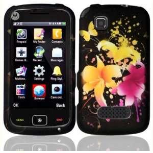 Heavenly Flowers Design Hard Case Cover for Motorola