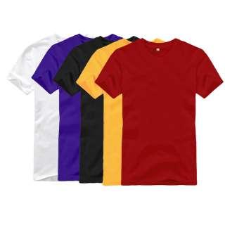 Brand New Mens Clothing T Shirts Crewneck Round Neck Tee Shirts Man