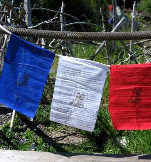 PRAYER FOR WORLD PEACE TIBETAN BUDDHIST PRAYER FLAGS NEPAL