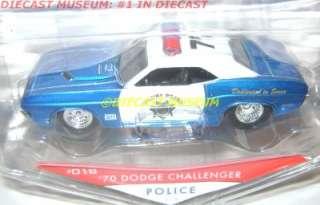 1970 70 DODGE CHALLENGER POLICE JADA HEAT DIECAST