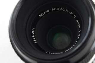 Nikon Micro Nikkor P.C 55mm f/3.5 Non AI Coated Lens