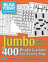 USA Today Jumbo Puzzle Book (Paperback)