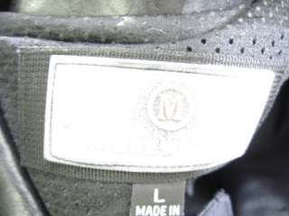 ANDREW MARC Mens Black Clasp Front Jacket Coat Size L